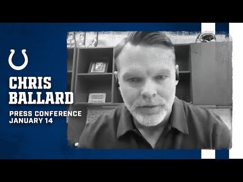 Chris Ballard 2020 End of Season Press Conference