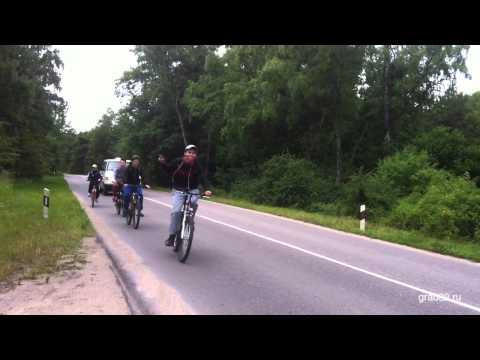 Велопробег на Куршской косе, лето 2015