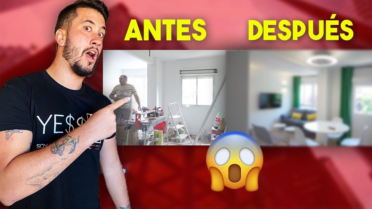 😱 Reforma de casa ANTES y DESPUÉS |Flipping Houses en español