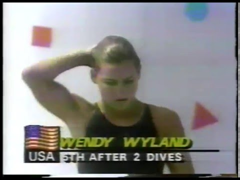 Olympics - 1984 Los Angeles - Diving - Womens Platform - 3rd Dive  imasportsphile