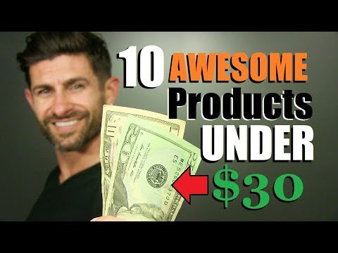 10 Men's Must Haves UNDER $30 Every Guy Needs! (CHEAP Items I LOVE)