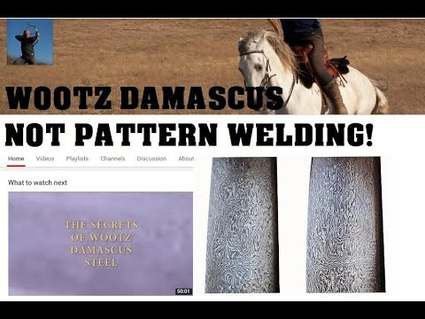Damascus (Wootz) Steel & Mike Loades' New Channel