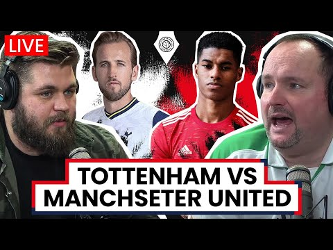 Tottenham Hotspur 1-3 Manchester United | LIVE Stream Watchalong