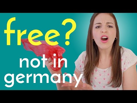 5 Things NOT FREE in Germany, but FREE in USA!*