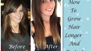 HOW TO: Grow Hair Longer And Faster! Thumbnail