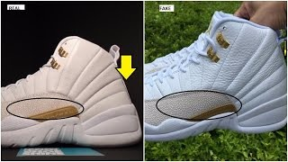 Fake Air Jordan 12 OVO Spotted: Quick Tips To Avoid them