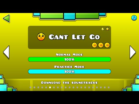 Geometry Dash - Cant Let Go - All Secret Coins!