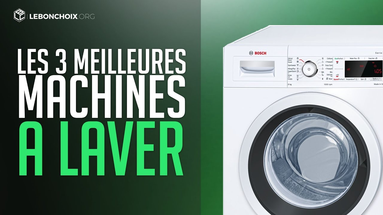 top 3 des meilleures machine a laver 2018 comparatif test youtube. Black Bedroom Furniture Sets. Home Design Ideas