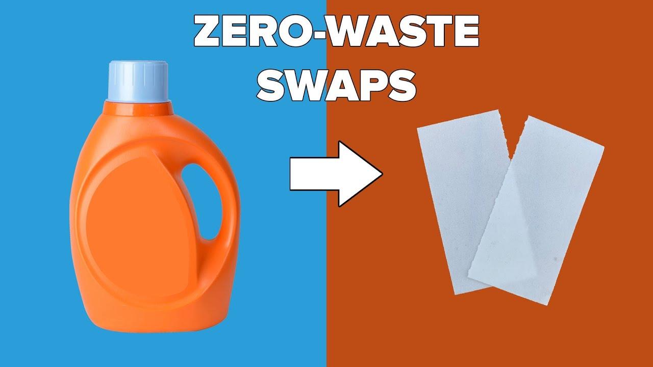 10 Zero-Waste Cleaning Swaps