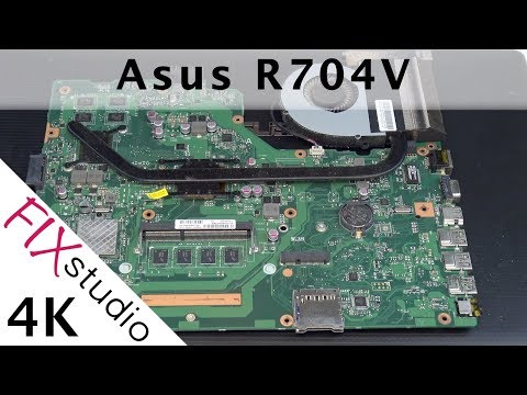 Asus R704V - Disassemble [4K]