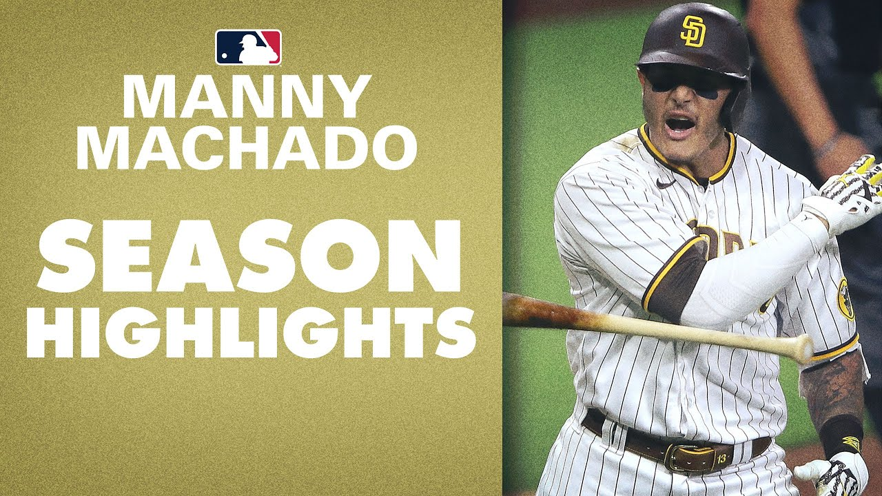 Redemption Year! Manny Machado WENT OFF in 2020 | MLB Highlights