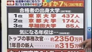元官僚によるキャリア官僚,天下りの実態暴露  1/全4本