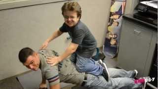 Brady's Power Push-Ups...With Keenan Cahill