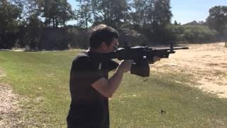 Full Auto Daewoo K3 (M249) Slow Motion