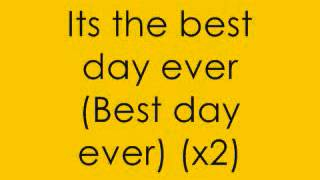 Video Spongebob Squarepants  Best Day Ever With Lyrics On Screen!!! download MP3, 3GP, MP4, WEBM, AVI, FLV Agustus 2018