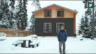 Разноуровневый дом из кирпича: традиционный и современный // FORUMHOUSE