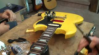 How To Install Pickup Covers On A Humbucker: Epiphone SG
