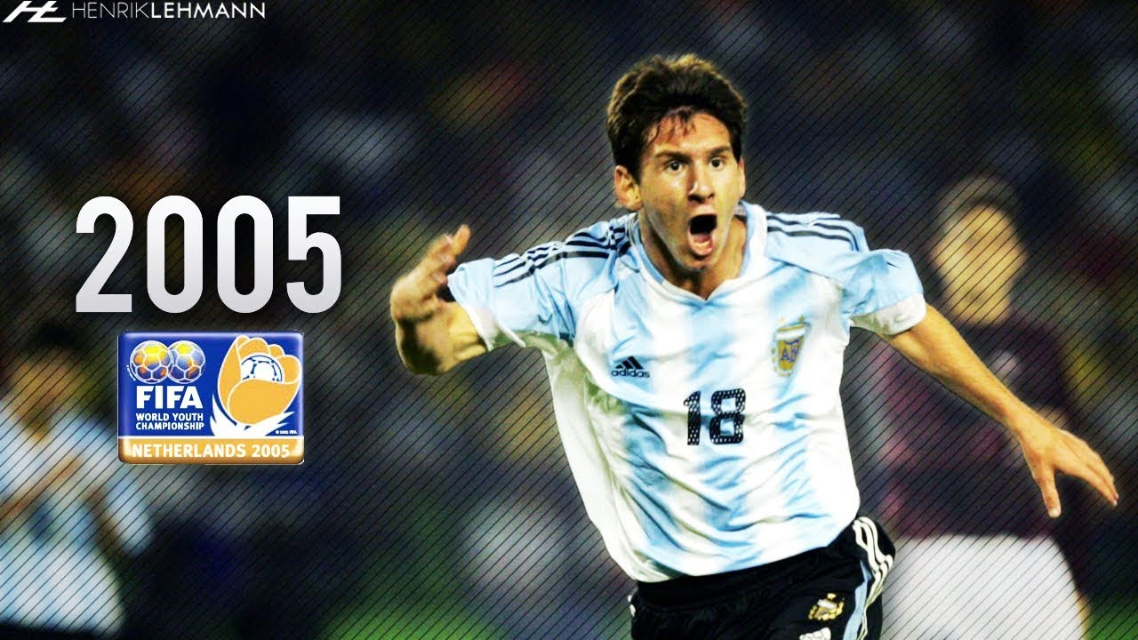 49113ee935c41a Lionel Messi ○ U-20 World Cup ○ 2005 HD - YouTube
