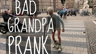 BAD GRANDPA PRANK! | ThatcherJoe