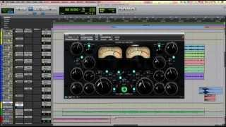 Drum Buss Processing w/ FabFilter Pro-Q 2, Shadow Hills Compressor and Studer A800