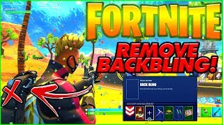 HOW TO REMOVE YOUR BACK BLING IN FORTNITE! (CONSOLE & PC) | FORTNITE SEASON 5 FIX BACK BLING GLITCH