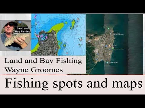 Bream, Squid And Snapper Fishing, Redcliffe & Scarborough MAPS AND SPOTS