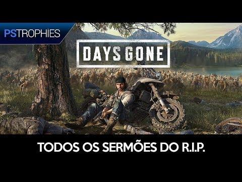 Days Gone - Todos Os Sermões Do R.I.P.  (Colecionáveis)