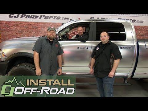 Dodge Ram 1500 AMP Research PowerStep Kit Plug-N-Play 2016-2017 Installation