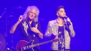 Queen + Adam Lambert - Somebody to Love - Perth Arena, 6 Mar 2018