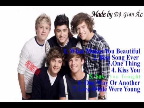 One Direction - Những bài hát hay của nhóm One Direction p1