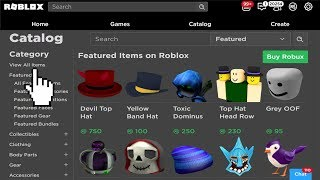 How The User Generated Catalog Will Work!? (ROBLOX UGC)