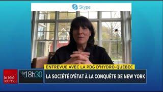 Hydro-Québec à la conquête de New York : entrevue avec Sophie Brochu
