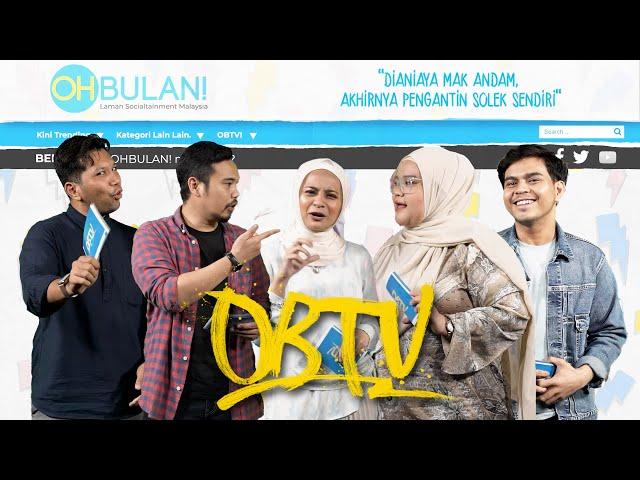 [OBTV] Tahniah! Perkahwinan Syamel & Ernie Zakri, Pengantin Kecewa Disolek Mak Andam Terjun