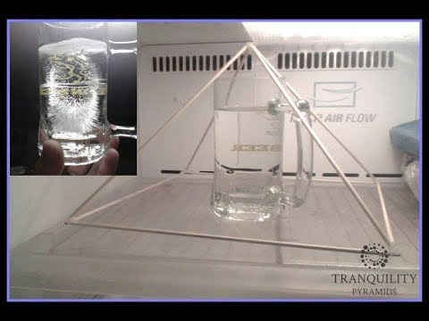 PYRAMID ENERGY - CHARGING WATER WITH NEGATIVE IONS