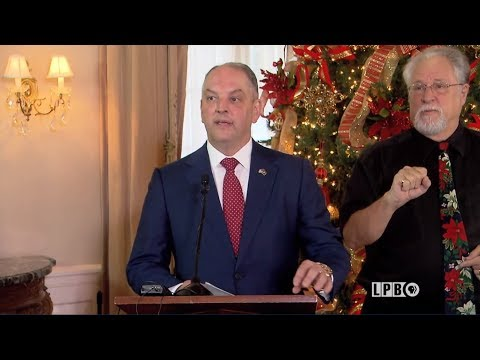 Newsmakers - 12/20/17 - Gov. John Bel Edwards - End of Year Press Conference