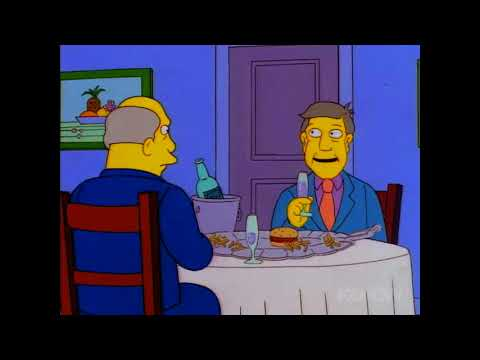 Steamed Hams But Skinner Has A Bad Stutter And Chalmers Has Tourettes