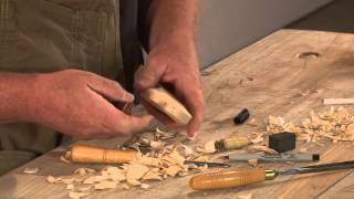 Linden Tree Woodcarving  - Letter Opener