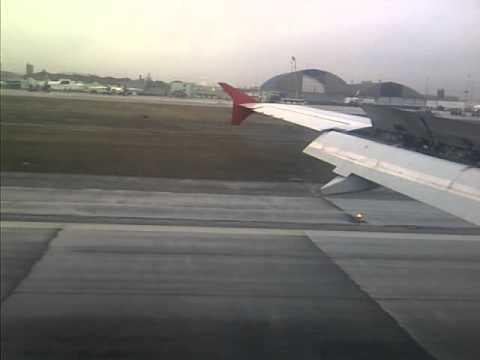 Landing In Lima/Callao International Airport.