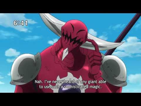 Matrona And Diane Safe From Galand And Monspeet Attack   Nanatsu No Taizai Season 2 Episode 8