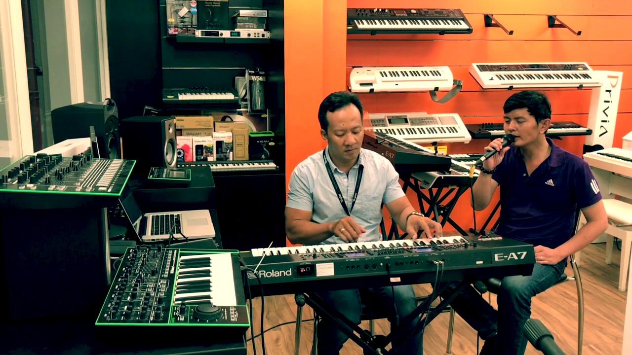 Demo style Roland E-A7: Nếu em còn tồn tại - Việt Thương Music