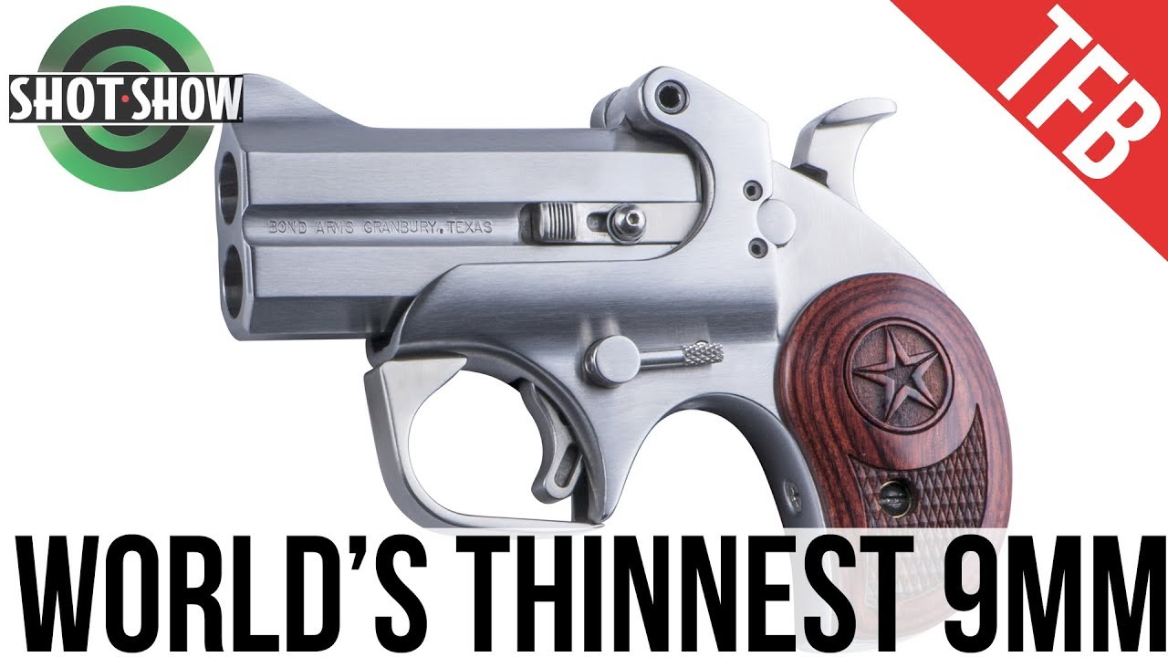 Shot Show 2019 Bond Arms Makes The Thinnest 9mm Ever Youtube