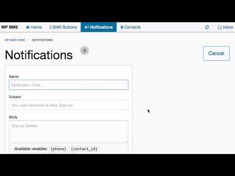 WP SMS - Adding SMS Button To Posts And Pages