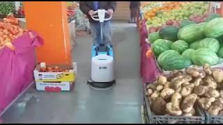 א.פ. מכונות שטיפה בלחץ - ניקוי חנות ירקות עם מכונה משולבת DEC 38