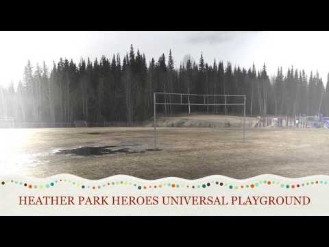 Ecole Heather Park Elementary Heroes Playground