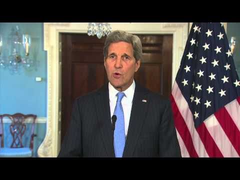 """Kerry responds to Paris terror attack: """"Free expression and a free press are core values"""""""
