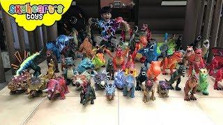 HUGE DINOSAUR COLLECTION - Skyheart's Walking Jurassic World Dinosaur Toys for kids
