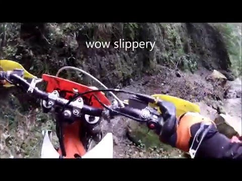2016 Tinui School Trail Ride - Slippery Creek - Hard Enduro