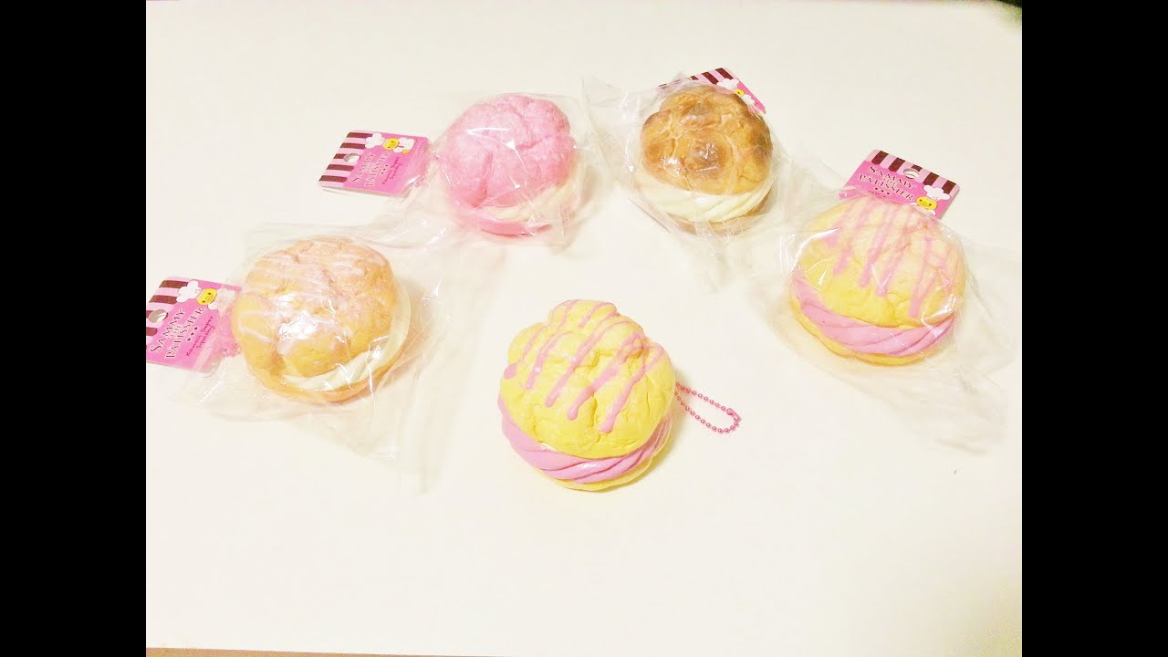 Sammy the Patissier Series 2.5 Cream Puff Squishy Review  - YouTube