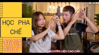 Khóa HỌC PHA CHẾ Kinh Doanh Quán Cafe - Trà Chanh