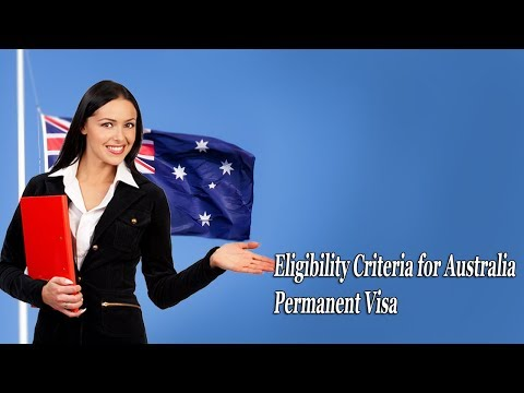 Find Eligibility Criteria for Australia Permanent Visa